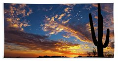 Hand Towel featuring the photograph A Blanket Of Many Colors by Rick Furmanek