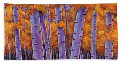 Autumn Tree Hand Towels