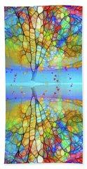 A Life Reflected In Colour Hand Towel