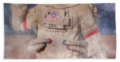 A Lifetime And Beyond Astronaut  Hand Towel