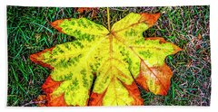 A New Leaf Hand Towel