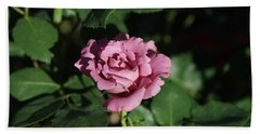 A New Rose Hand Towel