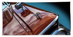 Bath Towel featuring the photograph A New Slant On An Old Vehicle - 1959 Edsel Corsair by Debi Dalio