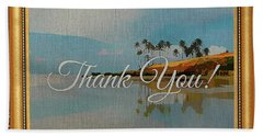 A Thank You Gift Bath Towel