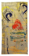 A Thousand Miles Of Sand And Sea Hand Towel