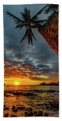 A Typical Wednesday Sunset Hand Towel