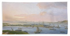 A View Of Stornoway, 1798 Hand Towel