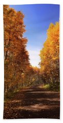 A Walk Down Memory Lane Bath Towel
