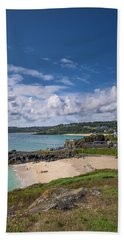 A Walk To Porthgwidden Beach - St Ives Cornwall Bath Towel