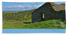 Abandoned Cottage In Alentejo Bath Towel
