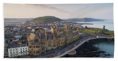 Aberystwyth Old College At Dawn Hand Towel