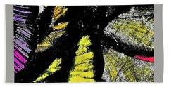 Bath Towel featuring the painting Metamorphosis by Joan Reese