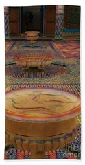Abstract Architecture Morocco  Bath Towel