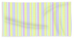 Abstract Fresh Color Lines Background - Dde595 Bath Towel