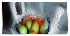 Abstract Fruit Art   104 Hand Towel
