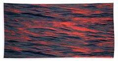 Abstract Ocean Hand Towel