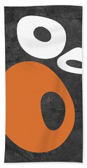 Abstract Oval Shapes I Hand Towel