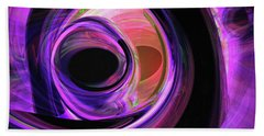 Abstract Rendered Artwork 3 Hand Towel
