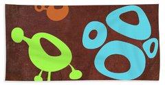 Abstract Splash Theme IIx Hand Towel