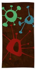 Abstract Splash Theme Vi Hand Towel