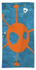 Abstract Splash Theme Xx Hand Towel