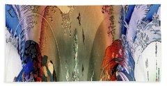 Abstract Utagawa Kunisada Bath Towel