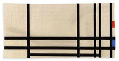 Abstraction, 1939 Hand Towel
