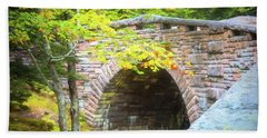 Acadia National Park - Amphitheater Bridge Hand Towel
