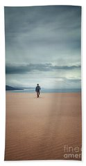 Across The Sands Of Time Bath Towel