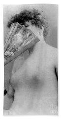 Actress Sarah Bernhardt Circa 1880 Bath Towel