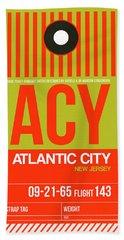 Atlantic Digital Art Hand Towels