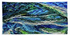 Aerial View Of Presque Isle Lake Erie Hand Towel