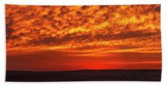 Hand Towel featuring the photograph Afterglow 02 by Rob Graham
