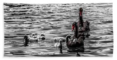 Cygnets Photographs Hand Towels