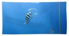 Air Rings Hand Towel