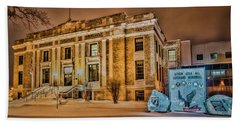 Aitkin County Courthouse Hand Towel