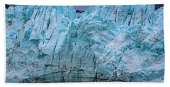 Alaskan Blue Glacier Ice Hand Towel