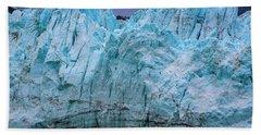 Alaskan Blue Glacier Ice Bath Towel