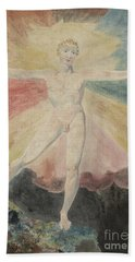Albion Rose Or The Dance Of Albion Hand Towel