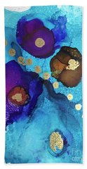 Alcohol Ink - 15 Hand Towel