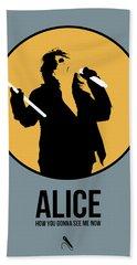 Alice Cooper II Bath Towel