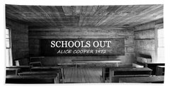 Alice Cooper Schools Out Bath Towel
