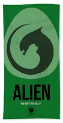 Alien Bath Towel