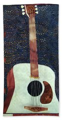 All That Jazz Guitar Hand Towel