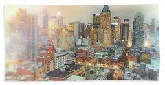 All Those Lights - New York City Hand Towel
