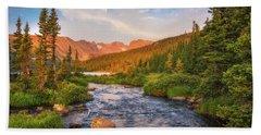 Alpenglow Creek Hand Towel