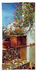 Amalfi Coast Impressions Bath Towel