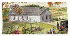 Amish School Days Bath Towel