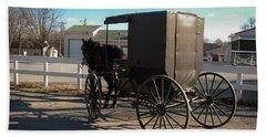 Amish Transportation Hand Towel