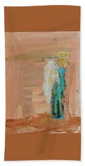 Angel Boy In Time Out  Hand Towel